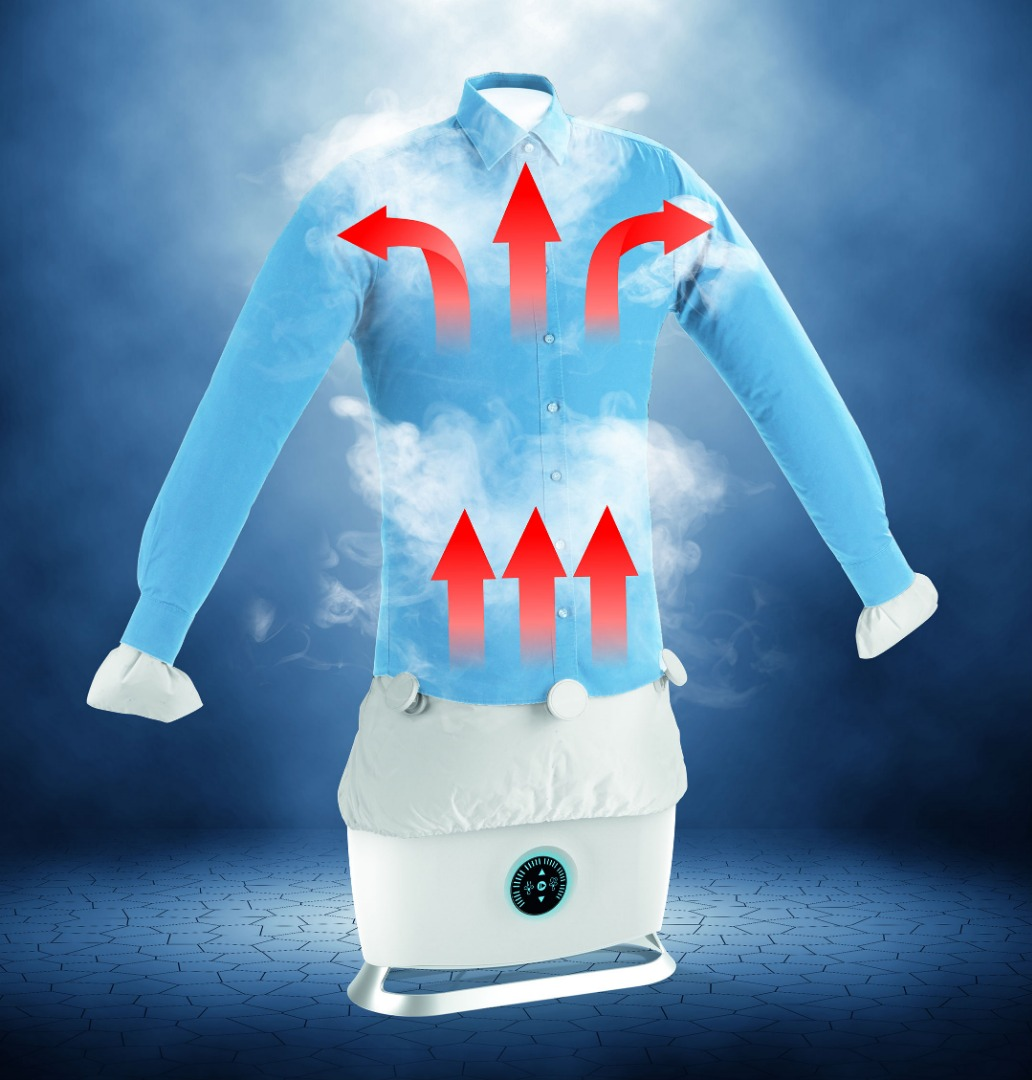 poze Aparat gonflabil de călcat și uscat haine Steam Ironing Robot
