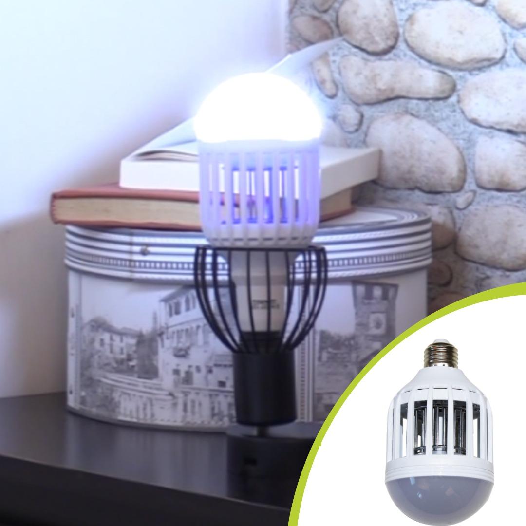 Lampa 2 In 1 Antiinsecte Cu Lumina Uv, Killer Lamp