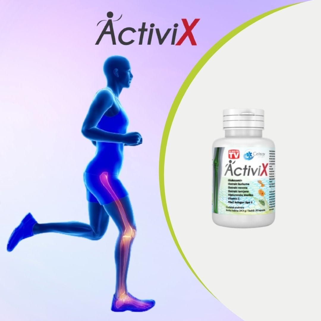 poze Supliment alimentar pentru articulații pe bază de curcuma, ActiviX