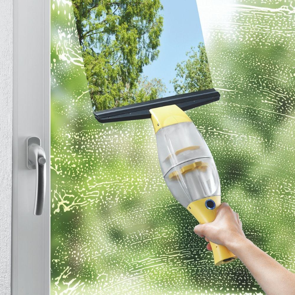 poze Aparat de spălat geamuri cu funcție de aspirare, 3 in 1 Vacuum Window Cleaner